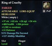 Ring of Cruelty