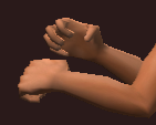 Tanned Fistwraps (Equipped)