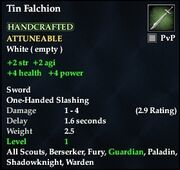 Tin Falchion