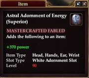 Astral Adornment of Energy (Superior)