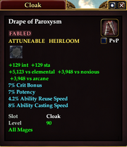 Drape of Paroxysm