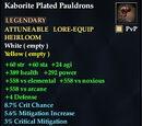 Kaborite Plated Pauldrons