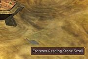 Pakiat-Esoteran Reading Stone Scroll