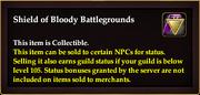 Shield of Bloody Battlegrounds