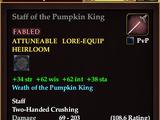 Staff of the Pumpkin King