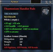 Thuntonium Handler Pads