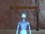 A funereal spectre