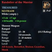 Bandolier of the Warrior