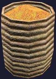 Basket of grain (Visible)
