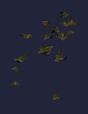 Bat Swarm Plushie (Visible)