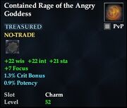 Contained Rage of the Angry Goddess