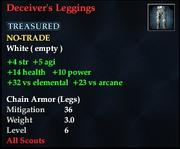 Deceiver's Leggings