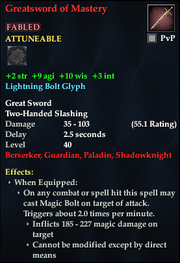Greatsword of Mastery