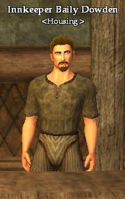 Innkeeper Baily Dowden