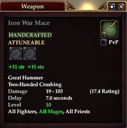 Iron War Mace