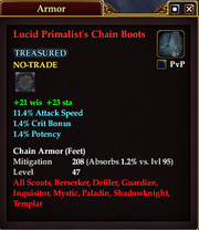 Lucid Primalist's Chain Boots