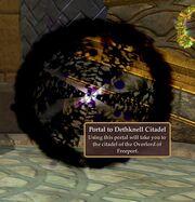 Portal to Deathknell Citadel