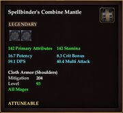 Spellbinder's Combine Mantle