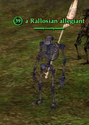 A Rallosian allegiant