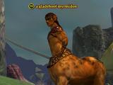 A gladehoof myrmidon