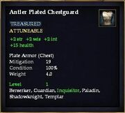 Antler Plated Chestguard