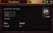 Azurite torque