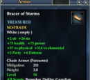 Bracer of Storms