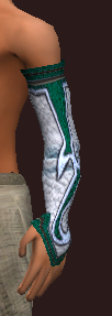 Frostwind Champion's Arm Wraps (Equipped)