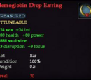 Hemoglobin Drop Earring