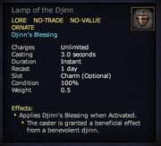 Lamp of the Djinn