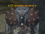 Ormanthus the Beast