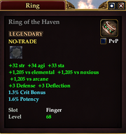 Ring of the Haven