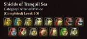 Shields of Tranquil Sea