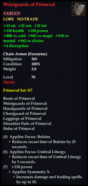 Wristguards of Primeval