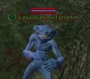 A guardian mist grinnin