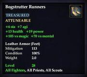 Bogstrutter Runners