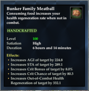 Bunker Family Meatball