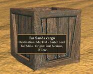 Far Sands cargo