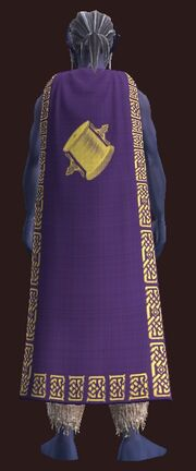 Formal Cloak of the Tailor worn