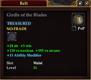 Girdle of the Blades
