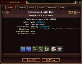 Guild-hall-upkeep-pay