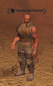 Lieutenant Darvus