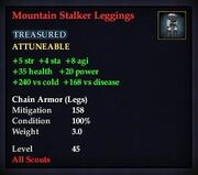 Mountain Stalker Leggings