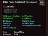 Pride Pakiat Reinforced Towerguard