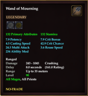 Wand of Mourning