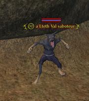 A Lteth Val saboteur