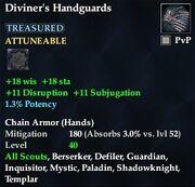 Diviner's Handguards
