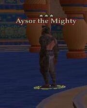 NPC Aysor the Mighty
