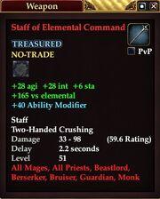 Staff of Elemental Command (52)