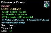 Talisman of Thuuga